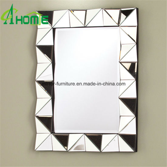 China Rectangle Construction Full Length Wall Mirror With Light