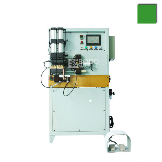 Heat Exchanger Refrigerator Condenser Evaporator Copper and Aluminum Tube Pipe Resistance Welder Machine pictures & photos