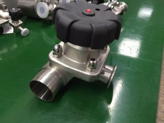 Sanitary 3-Way Diaphragm Valve pictures & photos