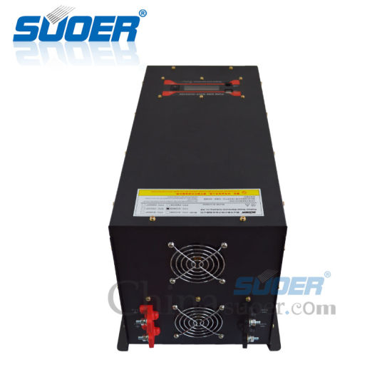 Suoer 24V 220V DC AC Pure Sine Wave Power Inverter (FPC-D5000B) pictures & photos