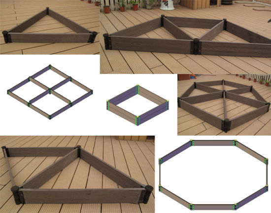 China Wpc Waterproof Outdoor Hollow Decking Flower Box Purchase
