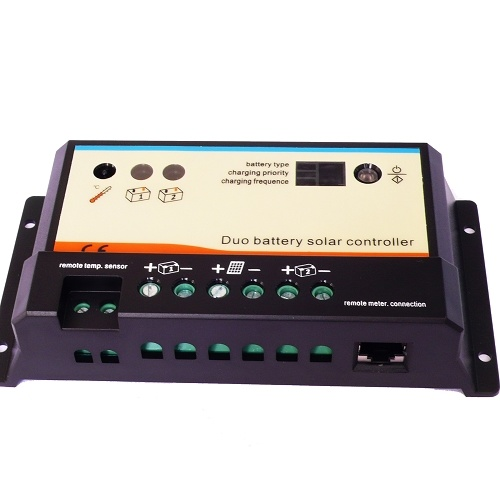 PWM Solar Double Charging Battery Controller with LCD Remote Meter pictures & photos