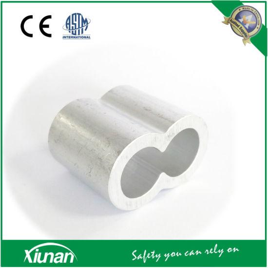China M16 16mm Aluminum Furrules Crimping Sleeve Double-Hole 8 ...