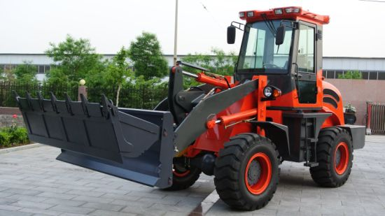 Eougem 2t Small Wheel Loader Price List Front End Loader for Sale pictures & photos