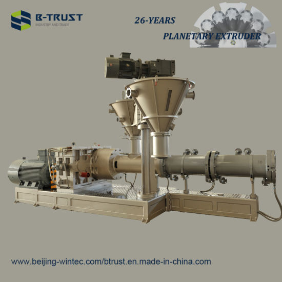 Ht Planetary Extruder for Soft PVC Film Calendering Line