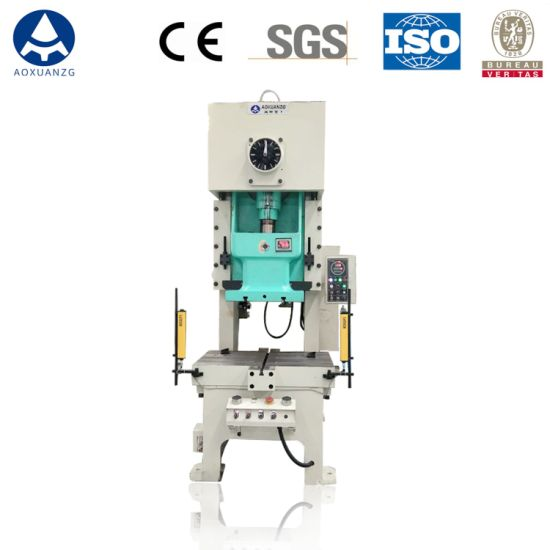 Jh21-25t Hole Punching Machine with Cheap Price, C Frame Type Pneumatic Power Press for Metal Sheets Punching