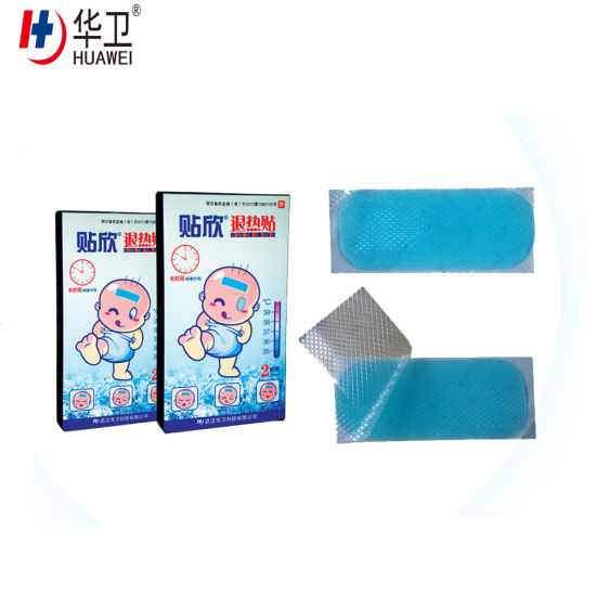 Hydrogel Cooling Gel Patch Antipyretic Patch Fever Cooling Gel Patch