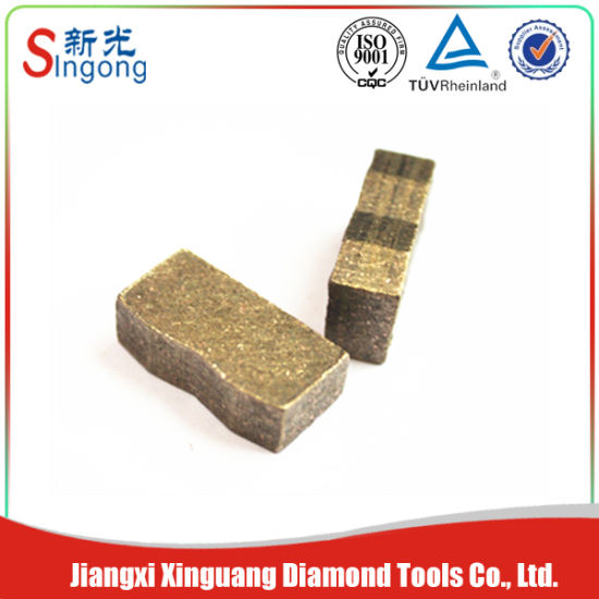China Diamond Cutting Segments Tools Used for Mechanical
