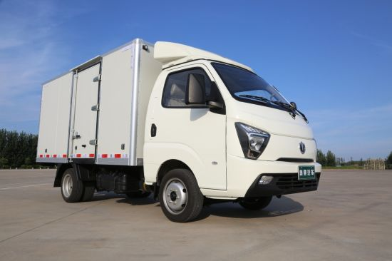 Euro III Diesel Mini Truck with Dry Cargo Box
