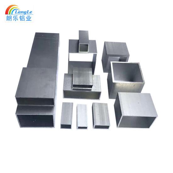 Light Extrusion Aluminium Pipe Raw Material End Threaded Bar