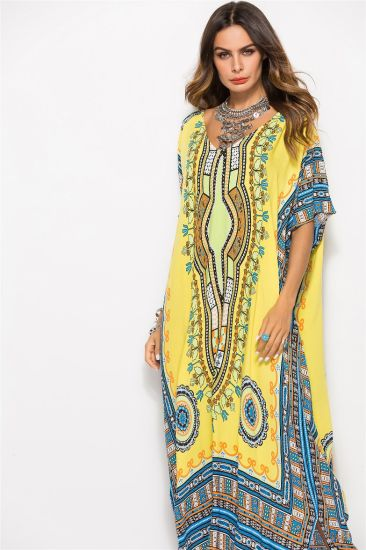2020 New Spring And Summer Women S Dress Large Size Wind Printing Casual Fashion Dress Robe Maxi Dress China Dress And Girl Dress Price Made In China Com