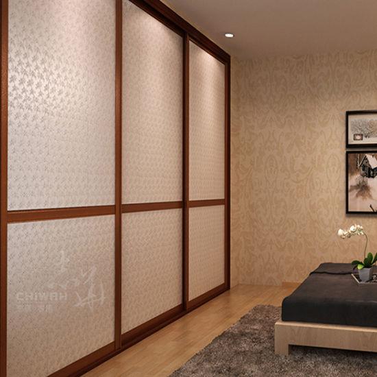 New Classical Sliding Door Wardrobe Closet (ZH5010)