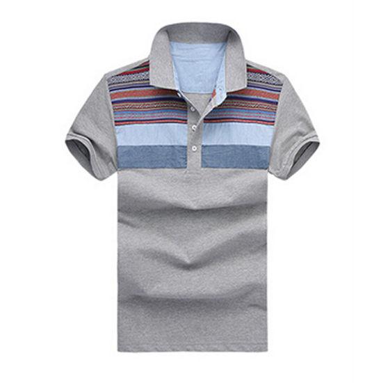 China Custom Dry Fit Blank Cotton Business Man Polo Shirts China