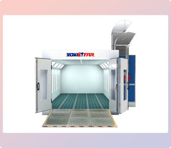 China Downdraft Paint Booth Industrial Auto Painting Booth ...