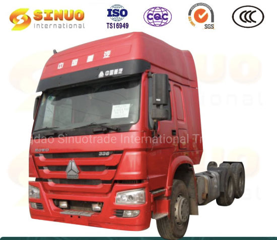 Used Sinotruk HOWO Truck 10 Wheels Second Hand Tractor Truck 371HP 375 Trailer Head Tractor Head China Truck Heavy Duty Truck 6x4 with Excellent Condition