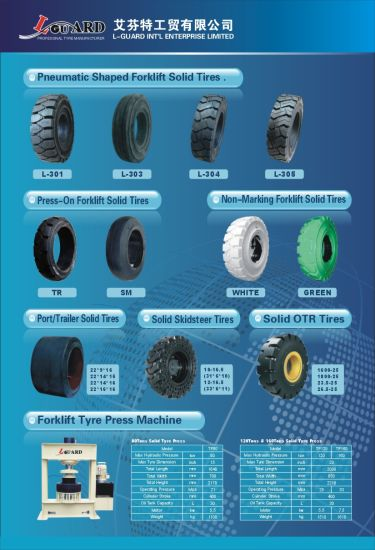 China Solid Tire Solid Tyre 10-16.5 12-16.5 Bobcat Skidsteer Loader Tire pictures & photos