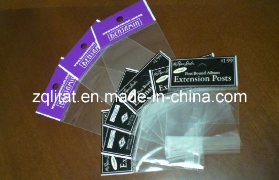 China bopp bags for greeting cardbopp plastic bag with blockhead bopp bags for greeting cardbopp plastic bag with blockhead transperant bopp self adhesive plastic bag ml op 4114 m4hsunfo