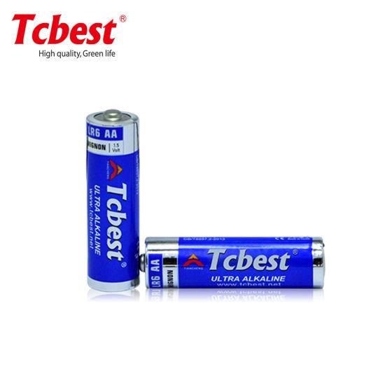 Ultra Primary Dry Alkaline Battery Lr6 AA 1.5V 350mins Alkaline Battery