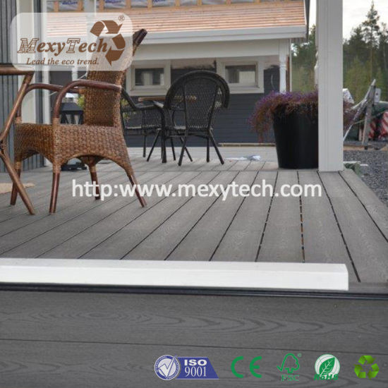 Canton Foshan Garden Flooring Patio Balcony Boundary WPC Decking