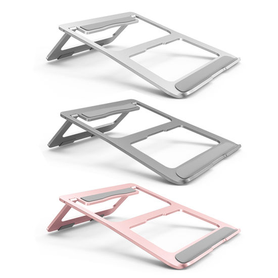 Hot- Selling Aluminum Alloy Tablet Stand iPad Tablet Cell Phone Holder Laptop Stand