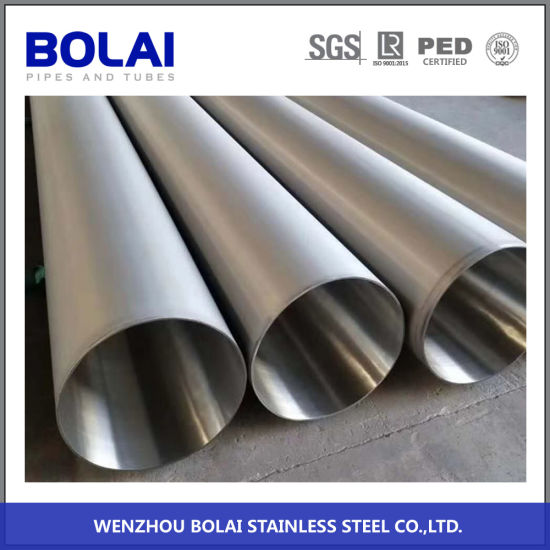 ASTM312 ASTM213 Steel Pipe Tp310s Welded Stainless Steel Pipe