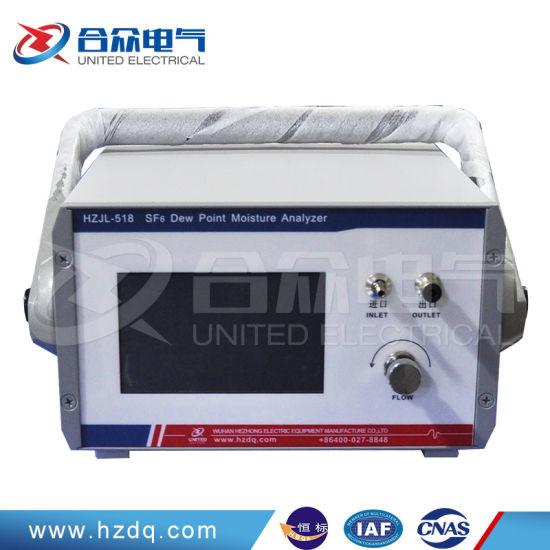 Sf6 Dew Point Moisture Analyzer/ Gas Detecter Lab Equipment