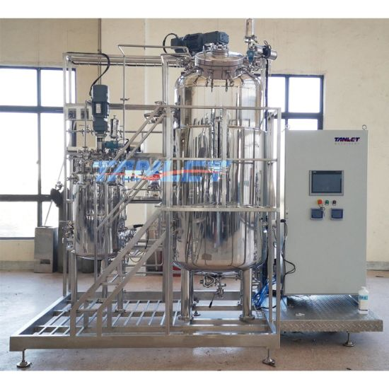 Two-Union Fermentation Tank with Automation Control for Microbial Culture