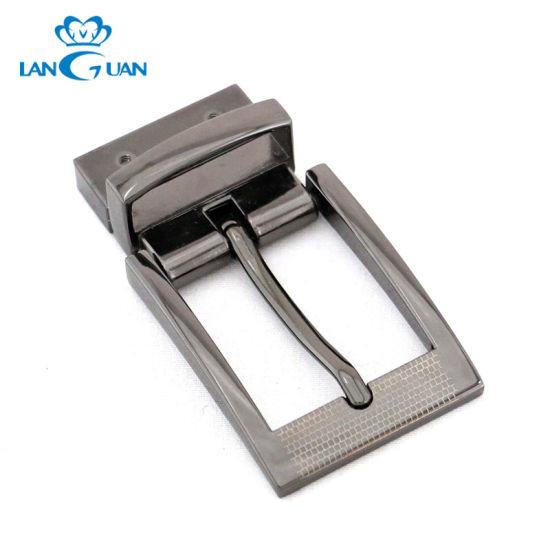32mm Laser Printing Business Men Belt Buckle