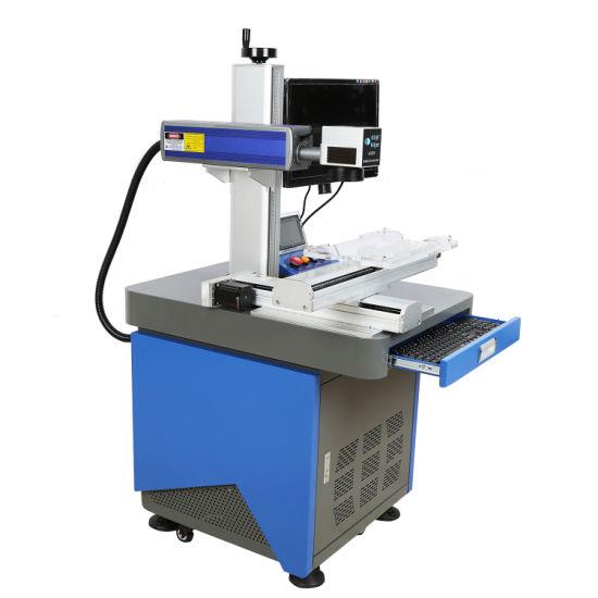 High Speed Laser Engraving/Marking Machine Fiber Laser Printer/Machine for Acrylic Ear Ring