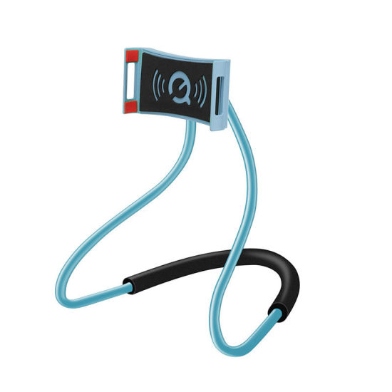 Flexible Lazy Neck Bracket Cell Phone Holder Tablet PC Holder Free Rotating Phone Holder with Multiple Function pictures & photos
