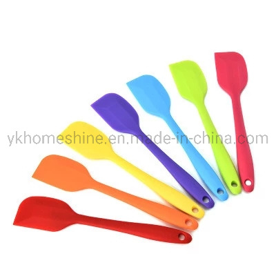Easy to Clean Food Grade Personalized Kitchen Silicone Spatula