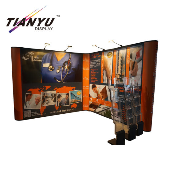 Popular Free Standing Recycle Unit Cardboard Display Stand Fsc Paper Board Cubes Pop up