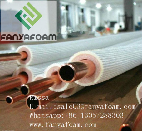 Heat Insulation Foam Tube for Air Conditioning Tube to Withstand Low Temperature pictures & photos