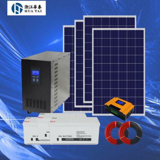 5kw Solar Energy System for Commercial Industrial Home Power Supply