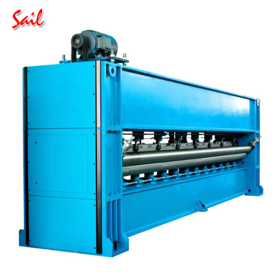 Polyester Nonwoven Carpet and Velour Carpet Manufacturing Machine
