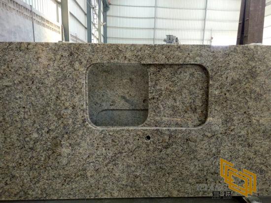 New Venetian Gold Granite Countertop for Kitchen/Bathroom/Hotel/Commercial/Building Materials