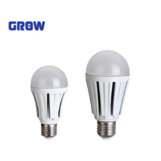 High Lumen Plastic Aluminum E27 LED Bulb Light (GR909)