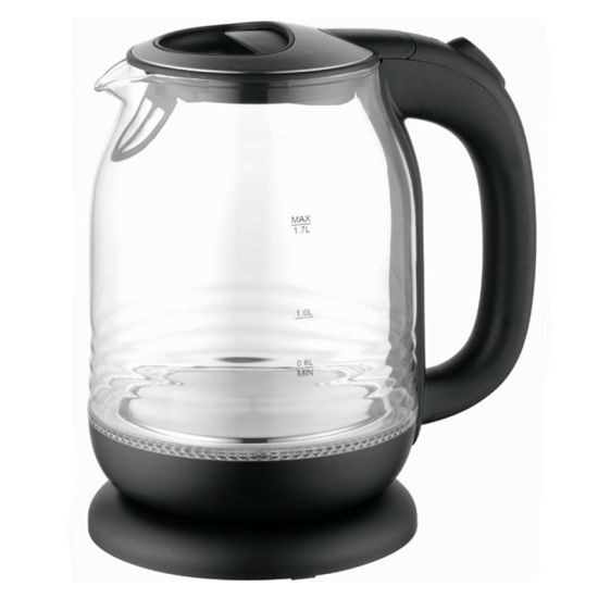 1.7 Liter 2200W Glass Electric Tea Kettle