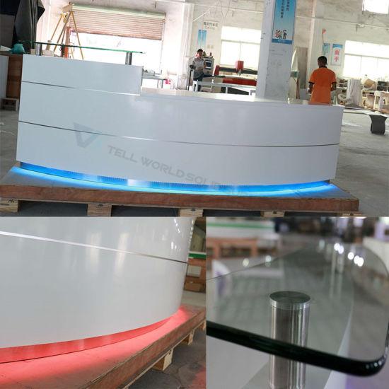 Modern SPA Reception Desk Service Counter Office Front Counter Design  Reception Counters