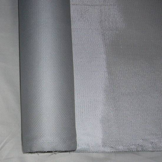Temperature Fire Prevention 7628 Double Sides Silicone Rubber Coated Fiberglass Cloth Fabric pictures & photos