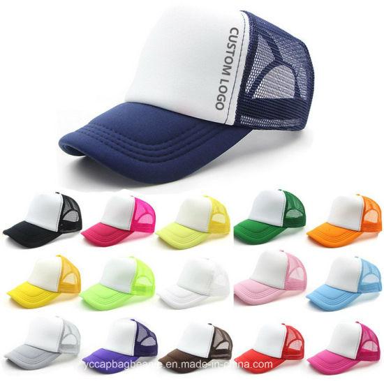 Multicolor Custom Logo Trucker Cap
