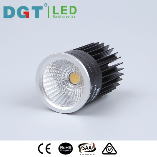External Driver 14W COB LED MR16 Module Match Frame