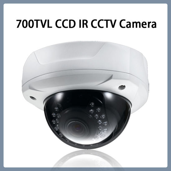 SONY 1//3 CCD 700TVL 2.8-12mm Lens Vandal-Proof Dome Color In//Out Door IR Camera
