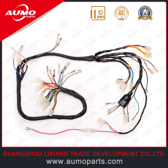 motorcycle cable wire harness assembly for suzuki gn125 pictures & photos