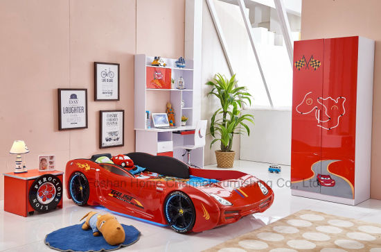 Image of: Modern Kids Furniture Intended Modern Kids Car Bed For Furniturehct4 maserati China