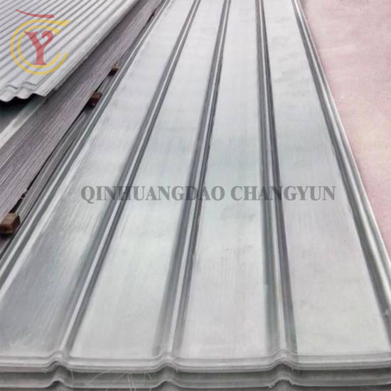 FRP Clear Roofing Sheets/Fiberglass Reinforced Plastic Transparent Roof  Sheet/FRP Transparent Roofing Panel