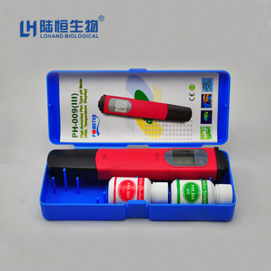 Pocket Size Portable pH /Temp Tester/Sensor with Atc (pH-0093)