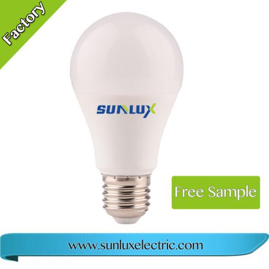 Good Quality A60 Aluminum PBT 7W 9W 12W 15W LED Bulb Light of 2 Years Warranty
