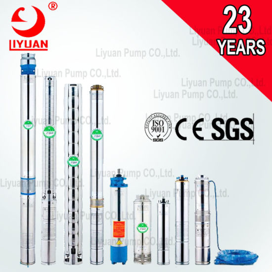 China Qj Vertical High Head Deep Well Submersible Pumps to Draw