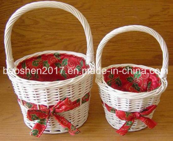 Gift Basket for Christmas Decoration